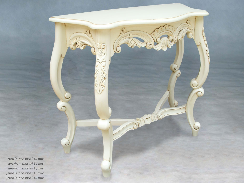 indonesia furniture Cross Leg Console