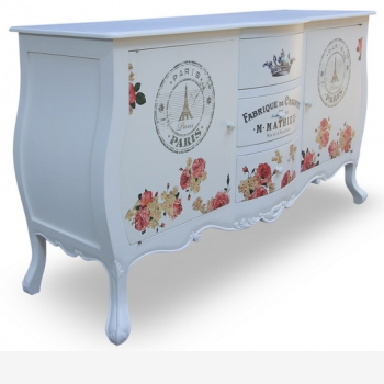 indonesia furniture Chest 2 Doors 3 Drawer