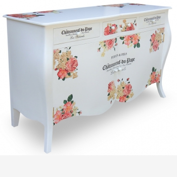 indonesia furniture Chest 2 Doors 3 Drawer 3