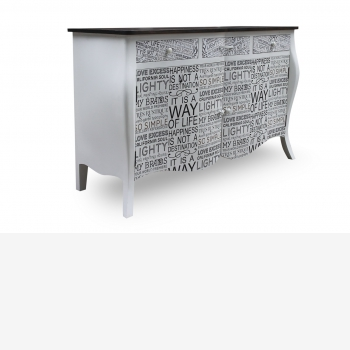 indonesia furniture Chest 2 Doors 3 Drawers 2