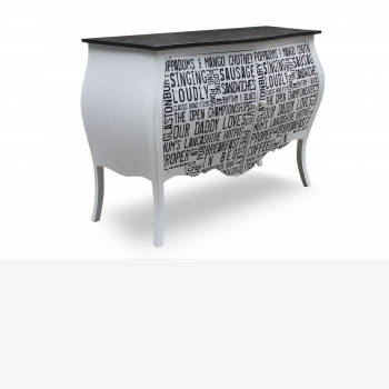 indonesia furniture Chest 2 Drawers 6