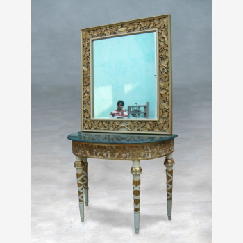 indonesia furniture Cirebon Console and Mirror