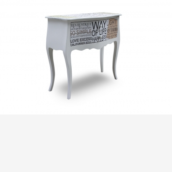 indonesia furniture Console 2 Drawers 3