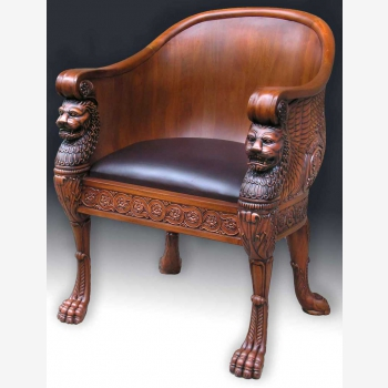 indonesia furniture Empire Lion Chair