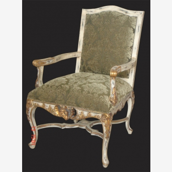 indonesia furniture French Cross Leg Armchair