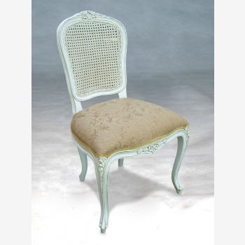 indonesia furniture Louis Rattan Back sidechair