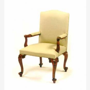 New Chippendale Upholstered Back Chair Indonesia Furniture Jepara Furniture Mahogany Furniture Teak Furniture