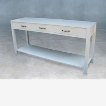 indonesia furniture Plain Console 3 Drawer
