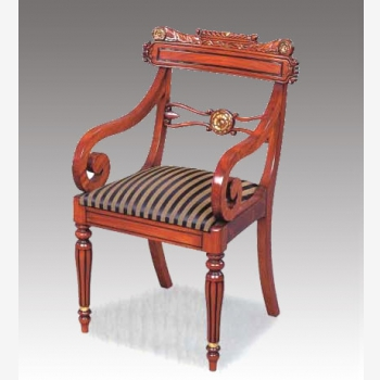 indonesia furniture Regency New Carving Armchair