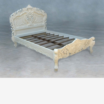 indonesia furniture Rococco Bed Double Size