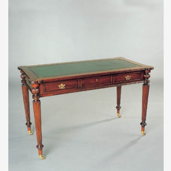 indonesia furniture Sheraton Writing Desk 3 Drawer