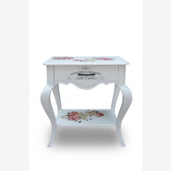 indonesia furniture Side Table 1 Drawer 3