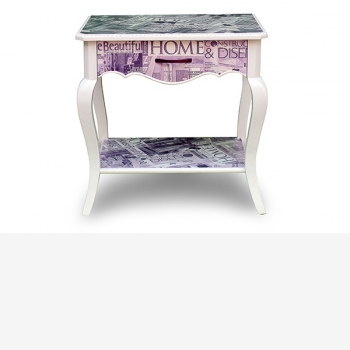 indonesia furniture Side Table 1 Drawer 5