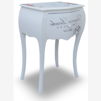 indonesia furniture Side Table 2 Drawers 11