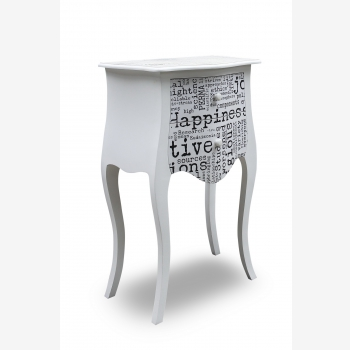 indonesia furniture Side Table 2 Drawers 6