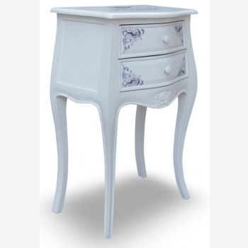 indonesia furniture Side Table 2 Drawers 8
